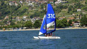 MiniCat, Un catamaran gonflable et transportable