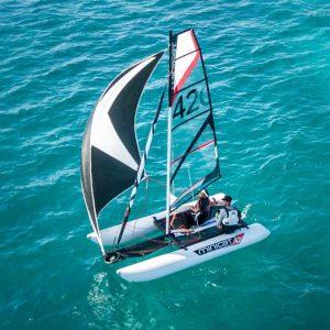Catamaran gonflable MiniCat 420 Genaker