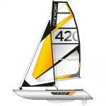 Catamaran gonflable MiniCat 420