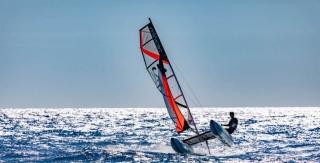 catamaran gonflable minicat 420 Evoque