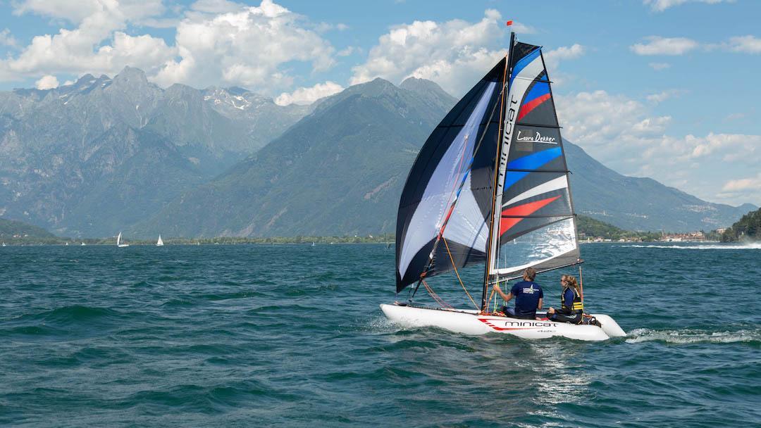 catamaran gonflable minicat 420 Laura Dekker